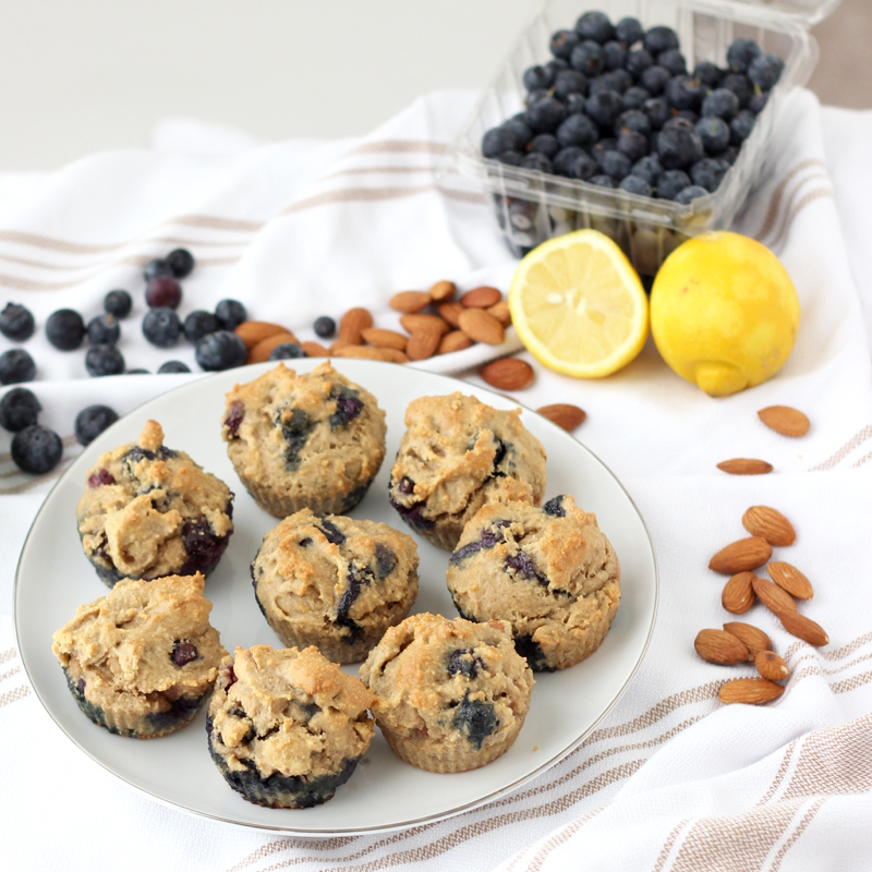 Blueberry Muffin from Living Well Kitchen